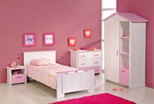 Kinderzimmer Biotiful weiss-rosa