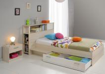 Kinderzimmer Tesso in Akazie-Weiß 3 teilig