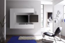Wohnwand Sally 4-teilig Kombi 1 in Weiß