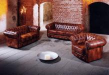 Sofa 3-Sitz / Sofa 2-Sitz / Sessel Bridgeport Wischleder, verschiedene Farben
