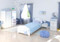Focon Jugendzimmerset 4-teilig Perl Weiß