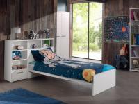 Kinderbett Set Loly 2-telig in Weiß