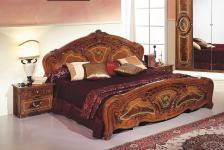 Doppelbett Julianna 160 x 200 cm Walnuss