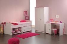 Kinderzimmer Smoozy 3-teilig in kiefer-weiss