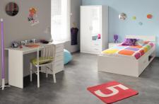 Jugendzimmer set Infinity 4-teilig in weiss