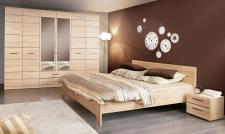 Schlafzimmer Sarah 4- tlg in Sonoma Eiche Denver Eiche