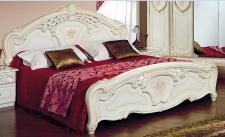 Doppelbett Julianna 180 x 200 cm Beige Glanz