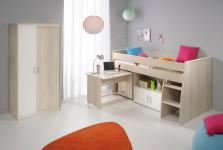Kinderzimmer-Set Tesso Akazie Weiß 2 teilig