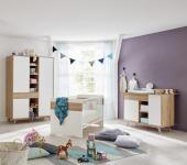 Babyzimmer Set Berry 3-teilig in Eiche Riviera Honig