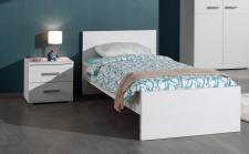 Kinderbett Set Loly 2-teilig in Weiß
