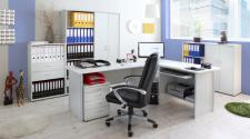 Büro- und Arbeitszimmer Sascha lightgrey Bigset (7-teilig)