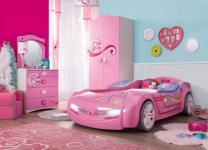 Cilek Princess Autozimmer 4-teilig