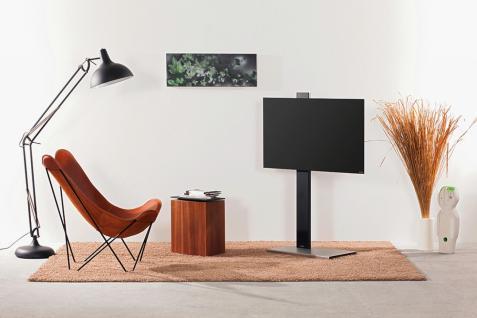 TV- Halter Rolling Stahl lackiert oder Holz