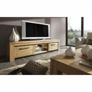 TV-Lowboard Samson Balkeneiche massiv 189 x 50 cm in verschiedenen Farben