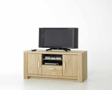 Prado TV-Lowboard in verschiedenen Größen Bianco Eiche
