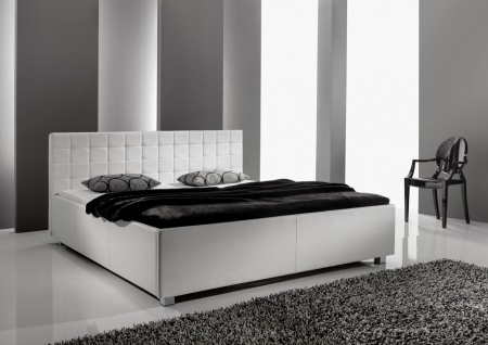 bett holz wei 180x200 online bestellen bei yatego. Black Bedroom Furniture Sets. Home Design Ideas