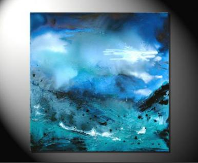 """Fiona Ritz """"BLUES"""" Moderne Kunst,Bild auf Leinwand"""