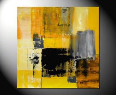 Claudia f rber gelb moderne kunst abstrakt kaufen bei gallery arte x claudia f rber m nchen - Moderne kunst bilder leinwand ...