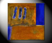 "Fiona Ritz ""RUSTY IV"" Moderne, abstrakte Malerei"