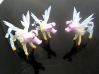 Eierlegende Wollmilchsau -Glasfigur-b8-11-30