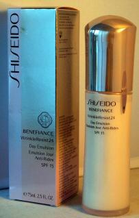 SHISEIDO BENEFIANCE WrinkleResist 24 Day Emulsion SPF 15 75ml