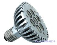 Power LED PAR30 kurz 10W E27 Strahler