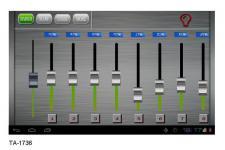 Bedienstelle Lichtsteuerung DMX 36-Kanal Touchpanel