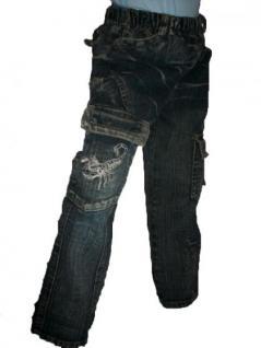 Kinder Jungen Jeans Hose Skorpion - Vorschau 1