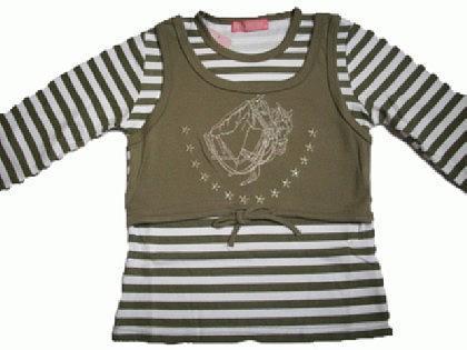 Pferde Kinder Sweatshirt Pullover Lagenoptik - Vorschau