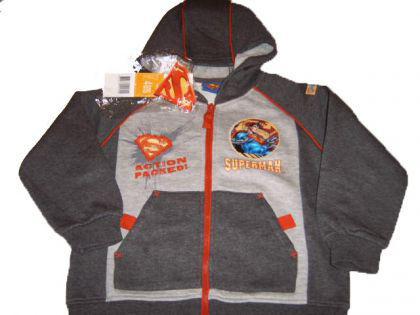 Superman Kinder Sweatjacke Jacke
