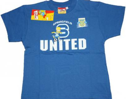 Simpsons Kinder T-Shirt Springfield Soccer 3