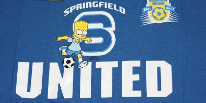 Simpsons Kinder T-Shirt Springfield Soccer 4