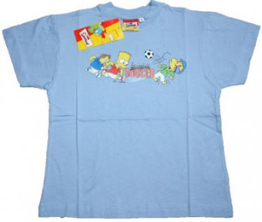 Simpsons Kinder T-Shirt Springfield Soccer