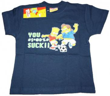 Simpsons Kinder T-Shirt Bart Nelson