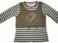 Pferde Kinder Sweatshirt Pullover Lagenoptik