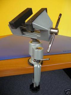 Mini Schraubstock drehbar um 360° TOP Qualität - Vorschau 1