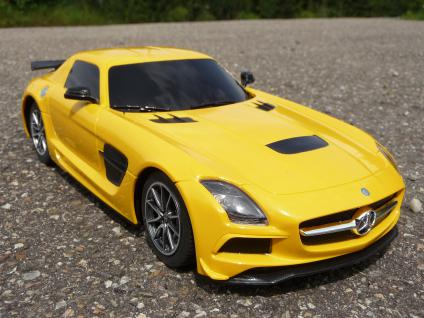 rc modell mercedes sls amg bs mit licht l nge 26cm. Black Bedroom Furniture Sets. Home Design Ideas