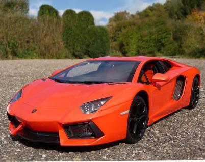 "RC Lamborghini Aventador mit LICHT Länge 33cm ""Ferngesteuert 27Mhz"""