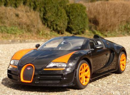 rc bugatti veyron grand sport mit licht 31cm ferngesteuert 2 4ghz kaufen bei wim shop. Black Bedroom Furniture Sets. Home Design Ideas