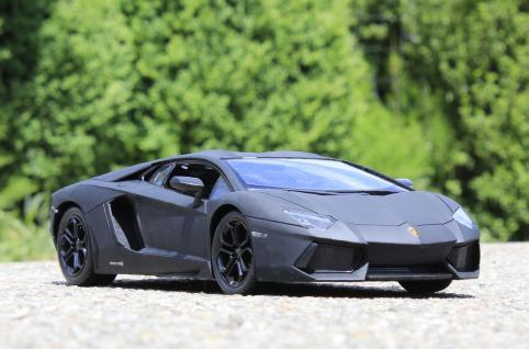 "RC Lamborghini AVENTADOR mit LICHT Länge 34cm ""Ferngesteuert 40-MHz"""