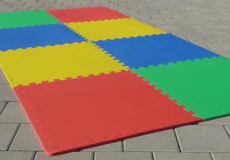 8 STÜCK Puzzlematte Spielmatte Kinderteppich 62x62xcm pro Matte