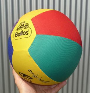 "Kinderball Ballos FARBIG ø25cm Hülle aus Baumwoll-Stoff ""TOP QUALITÄT"" - Vorschau 1"
