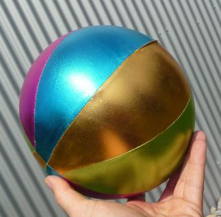 """Kinderball Ballos GLIMMER ø20cm Hülle aus Textil-Stoff """"TOP QUALITÄT"""" - Vorschau 3"""