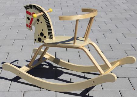 kinder schaukelpferd schaukelstuhl aus massiv holz in top qualit t kaufen bei wim shop. Black Bedroom Furniture Sets. Home Design Ideas