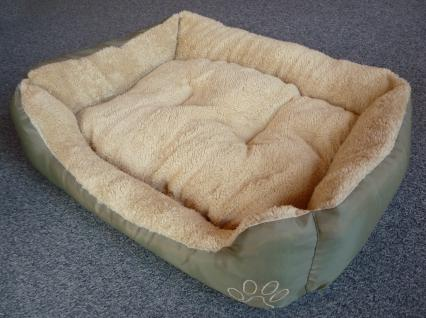 "Katzenbett oder Hundebett 55 x 45cm mit abnehmbarem Kissen ""WASCHBAR"" - Vorschau 2"