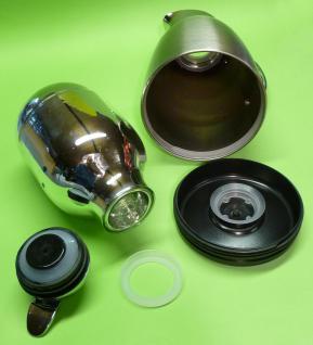 ISOLIERKANNE mit 1-Liter aus EDELSTAHL mit EINHAND-AUTOMATIK - Vorschau 4
