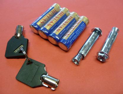 ELEKTRONISCHER SAFE WANDTRESOR MÖBELTRESOR mit Zahlenschloss + Schlüssel - Vorschau 5