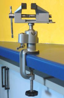 Mini Schraubstock drehbar um 360° TOP Qualität - Vorschau 3