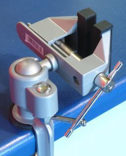 Mini Schraubstock drehbar um 360° TOP Qualität - Vorschau 5