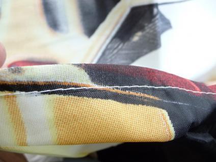 Textil DUSCHVORHANG Motiv NEW-YORK TAXI 180 x 180cm mit 12 HAKEN - Vorschau 4
